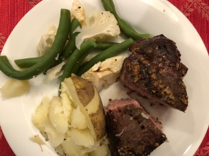 SV steak